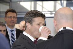 H.R.CROWN PRINCE FREDERIK_EWEA OFFSHORE 2015 Stock Image