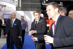 H.R.CROWN PRINCE FREDERIK_EWEA OFFSHORE 2015 Royalty Free Stock Photography