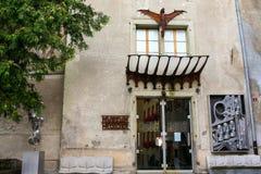 H r entrada del museo del giger imágenes de archivo libres de regalías