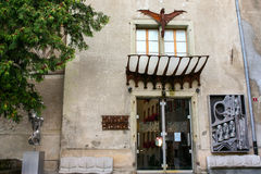 Free H.R. Giger Museum Entrance - Gruyeres, Switzerland Royalty Free Stock Images - 53847069