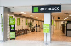 H&R Office in a Toronto Mall stock photo
