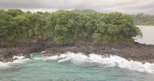H?rlig kustlinje, indonesia ostrav bali stock video