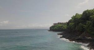 H?rlig kustlinje, indonesia ostrav bali arkivfilmer