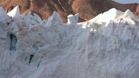 H?rlig sikt av isberg lager videofilmer