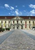 H?rlig slott Schloss Ludwigsburg i Tyskland fotografering för bildbyråer