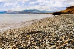 H?rlig strandbakgrund royaltyfria foton