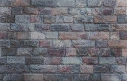 H?rlig tegelstenv?gg Textur f?r m?rkes- bakgrund arkivbild