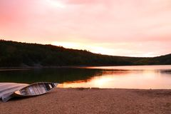 H?rlig Wisconsin naturbakgrund arkivfoton