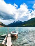 H?rliga Altai berg September 2018 arkivfoto