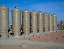 H2S-borttagningsskyttlar Arkivfoto