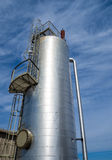 H2S stripping vessel at a gas storage facility Royalty Free Stock Photos