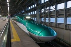 The H5 Series bullet(High-speed,Shinkansen) train. Royalty Free Stock Photo