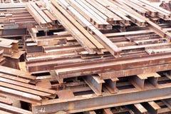 H Steel Stock Image