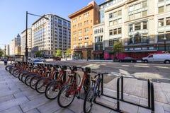 H Street Northwest, Washington DC, USA stock images