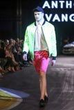 Hôte Porter Fashion Show : Anthony Avangard, Zagreb, Croatie Images libres de droits