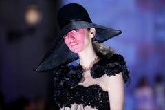 Hôte Porter Fashion Show : Boudoir, Zagreb, Croatie Image stock