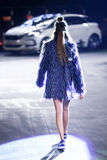 Hôte Porter Fashion Show : Marina Jerant, Zagreb, Croatie Photo stock