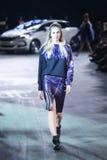 Hôte Porter Fashion Show : Marina Jerant, Zagreb, Croatie Photographie stock libre de droits