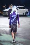 Hôte Porter Fashion Show : Marina Jerant, Zagreb, Croatie Photos stock