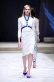 Hôte Porter Fashion Show : Mario Vijackic, Zagreb, Croatie Photographie stock libre de droits