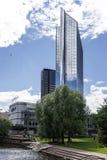Hôtel bleu de Radisson à Oslo photo stock