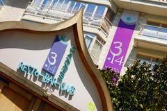 3 14 hôtel - CANNES Image libre de droits