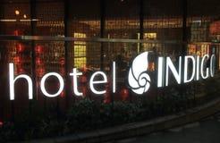 Hôtel cinq étoiles Hong Kong d'indigo d'hôtel photos libres de droits
