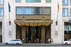 Hôtel cinq étoiles Waldorf Astoria Photos stock