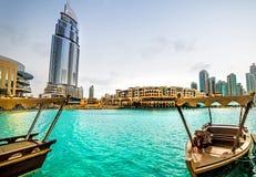 Hôtel d'adresse à Dubaï Images stock