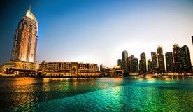 Hôtel d'adresse à Dubaï Images libres de droits