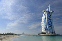 Hôtel d'Arabe d'Al de Burj Photos libres de droits