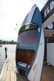 Hôtel d'Eldorado de point de repère de tourisme d'hôtel d'Eldorado avec les bateaux sportifs Photos stock