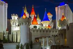 Hôtel d'Excalibur - Las Vegas Photos libres de droits