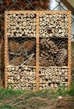 Hôtel d'insecte Photo libre de droits