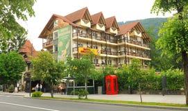 Hôtel dans Sinaia, Roumanie images libres de droits