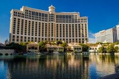 Hôtel de Bellagio au cours de la journée, Las Vegas Image libre de droits