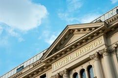 Hôtel de Bristol à Varsovie Image libre de droits