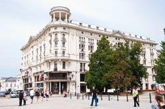 Hôtel de Bristol à Varsovie Images libres de droits