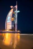 Hôtel de Burj Al Arab, Dubaï, EAU. Image stock