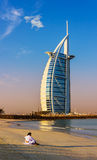 Hôtel de Burj Al Arab le 15 novembre 2012 à Dubaï Image libre de droits