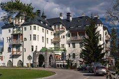 Hôtel de château dans Imatra photographie stock