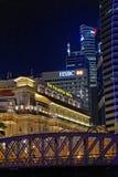 Hôtel de Fullerton à Singapour images stock