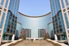 Hôtel de Grand Hyatt d'escalier, Pékin, Chine Images stock