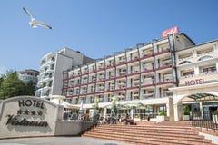Hôtel de Grifid - de Vistamar, plage d'or de sables, Bulgarie Photo stock