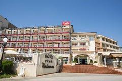 Hôtel de Grifid - de Vistamar, plage d'or de sables, Bulgarie Photographie stock libre de droits