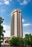 Hôtel de Kazakhstan, Almaty image libre de droits