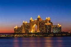 Hôtel de l'Atlantide à Dubaï Émirats arabes unis Image libre de droits