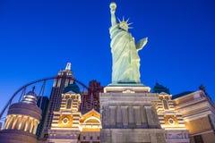 Hôtel de Las Vegas New York Photographie stock