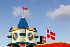 Hôtel de Legoland dans Billund, Danemark Photos libres de droits