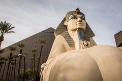 Hôtel de Louxor à Las Vegas, nanovolt photos libres de droits